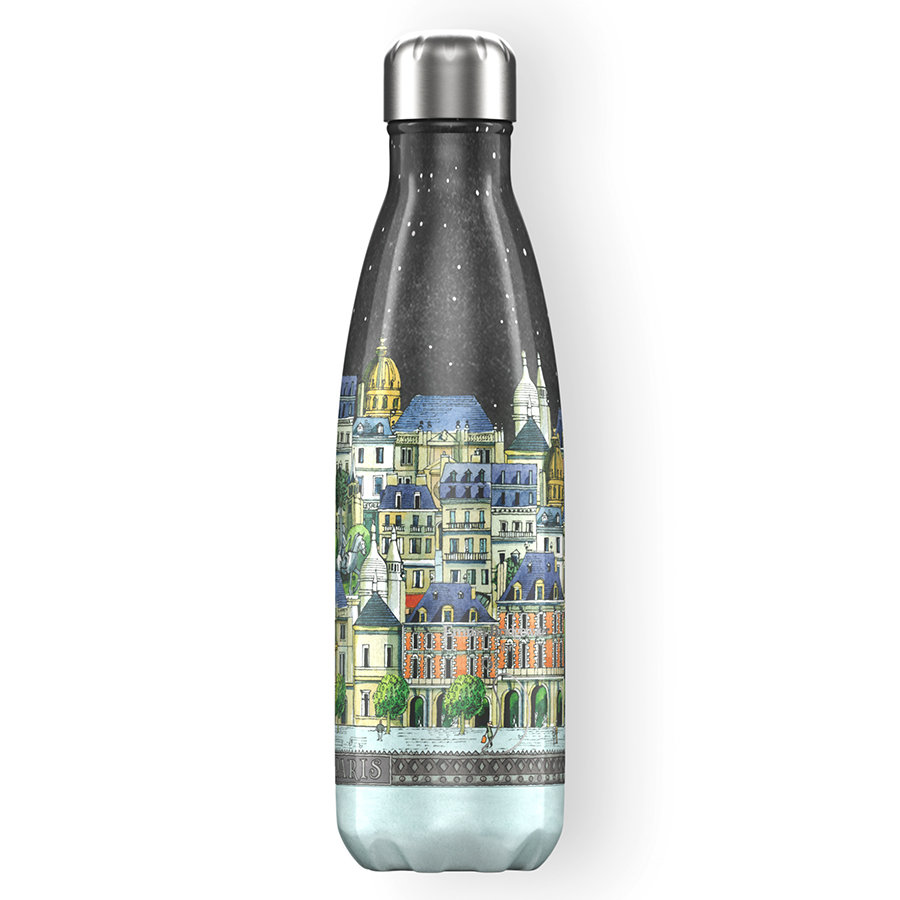 Термос emma bridgewater 500 мл paris, Chilly's Bottles, арт: B500EBPAR